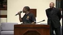 Pastor Charles Jenkins preaching at Ebenezer AME for Youth Sunday.flv
