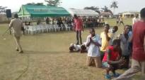 Over 100 inmates gave their lives to Christ in kirikiri maximum prison Lagos today.mp4