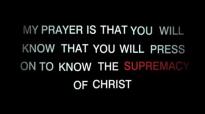 The Supremacy of Christ Sermon Jam  John Piper
