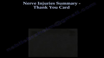 Nerve Injuries Summary ,Thank You Card  Everything You Need To Know  Dr. Nabil Ebraheim