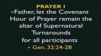 Bishop OyedepoCovenant Hour Of Prayer April 23,2015