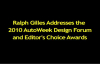 Dodge CEO Ralph Gilles addresses the AutoWeek Design Forum and Editor's Choice Awards.mp4