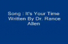 Its your Time Written_ By Dr. Rance Allen.flv