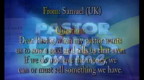 Pastor Chris Oyakhilome -Questions and answers  -Financial (Finances) Series (24)