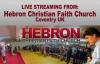 Hebron Christian Faith Church, Pastor John Quintanilla - Sunday 3rd January 2016.flv