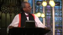 Presiding Bishop Michael Curry preaches at St. John's in Hong Kong.mp4