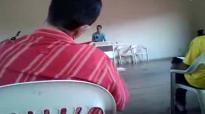 Pr.Elizeu Rodrigues no retiro dos vares da Assembleia de Deus Campo Central em Goianira