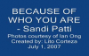 Because of Who You Are - Sandi Patti.flv