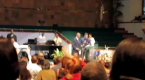 Bishop Clarence E. McClendon preaching at FCMI Business conference 2013