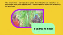 The sugarcane eater. Kansiime Anne. African comedy.mp4