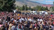 Kanye West Sunday Service - Cody, Wyoming.mp4