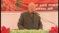 Christmas Message in Nepali by Pastor Robert Karthak