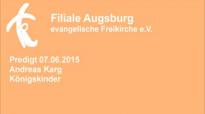 Predigt 07.06.2015 Andreas Karg - Königskinder.flv