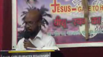 Pastor Michael hindi message [BE A DISCIPLE OF JESUS] POWAI MUMBAI.flv