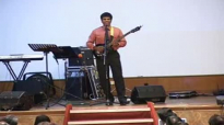 Pastor Isaac Joe sings Never, Never, Never Give Up at Church's Sunday Service on 1 February 2009.flv