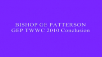 BISHOP GE PATTERSON GEP TWWC 2010 Conclusion
