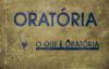 CURSO DE ORATRIA prt I PR SAMUEL PROCOPIO