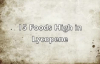 15 Foods High in Lycopene