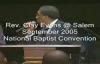 Rev. Clay Evans Preaching 'Storm Survivors' at Jasper Williams Church.flv