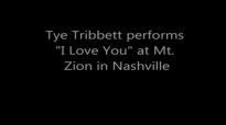 NEW I Love You, Tye Tribbett 2013.flv