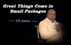 TD Jakes - Great Things Come In Small Packages