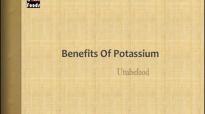 Benefits Of Potassium Kidney Function  HEALTH TIPS