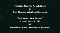 The Thomas Whitfield Company - God Wants Our Praise Live in Detroit, MI, 1983.flv