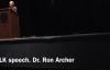 MLK speech. Dr. Ron Archer