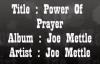 Joe MettlePower Of Prayer