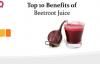 top 10 Benefits of Beetroot Juice  Beetroot Benefits  HElath