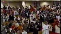 Rev. Clay Evans Dancing at HF Shepherd Retirement Service-June 2004.flv