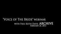 Webinar 2 with Paul Keith Davis The Great Cloud of Witnesses Pt. 2