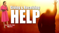 Giving and receiving help - Rev. Funke Felix Adejumo.mp4