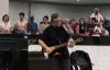 Nani Azevedo e Cleyton Queiroz na Assembleia de Deus em Londrina