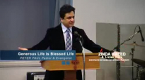 GENEROUS LIFE IS BLESSED LIFE - Sermon by Pastor Peter Paul.flv