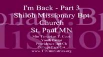 Minister Tamarkus Cook Sermon Close 'IM BACK.flv