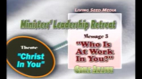 Who is at Work in You by Rev Gbile Akanni A