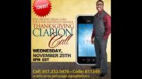 Prophet Brian Carn - Clarion Call 11_25_15 (AUDIO) URGENT!