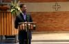 Schluss  Abschlussgottesdienstes mit Pastor Otis Moss III der Tagung vom 1. Mai 2012, Zrich