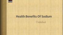 Health Benefits Of Sodium Sodium Chloride  HEALTH TIPS