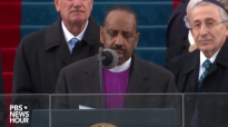 Bishop Wayne T. Jackson delivers the benediction at Inauguration Day 2017.mp4