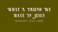 Rev. James Cleveland - What A Friend We Have In Jesus.flv