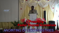 Preaching Pastor Thomas Aronokhale - AOGM FULFILMENT October 2018.mp4