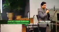 JUSTIFY YOUR PURPOSE - Sermon by Pastor Peter Paul.flv