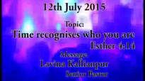 SK Ministries - 12th July 2015 , Speaker - Senior Pastor Lavina Kallianpur.flv