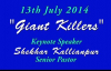 SK Ministies - 13th July 2014, Speaker - Pastor Shekhar Kallianpur.flv