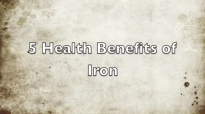 5 Health Benefits of Iron