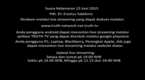 Pdt. Dr. Erastus Sabdono  Khotbah Suara Kebenaran 23 Juni 2015