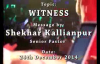 SK Ministies - 24th December 2014, Speaker - Pastor Shekhar Kallianpur.flv