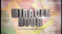 Pastor Jerome Fernando Preaching Holy Words of Corresponding Power in Miracl Hour